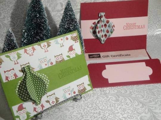 Ornament Punch Gift Cert