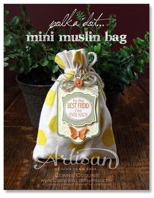 muslin bag yellow